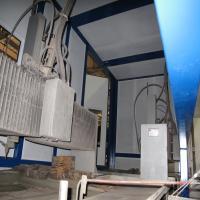 סגירה אקוסטית למכונה במפעל חישולי כרמל